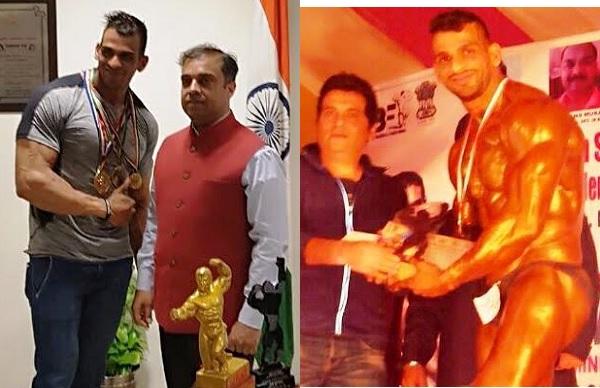 Mr इंडिया का खिताब जीतना चाहता है हरियाणा पुलिस का ये जवान, CP ने किया सम्मानित