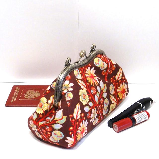 Сумка кошелек женский - сумочка на выпускной бал, подарок подруге. Ручная работа, доставка почтой или курьером.