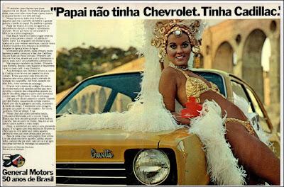 propaganda Chevrolet Opala - 1975, Opala 75, GM anos 70, Chevrolet década de 70, carros Chevrolet anos 70, Oswaldo Hernandez, General Motors 50 anos de Brasil, Djenane Machado anos 70, Carlos Machado anos 70,