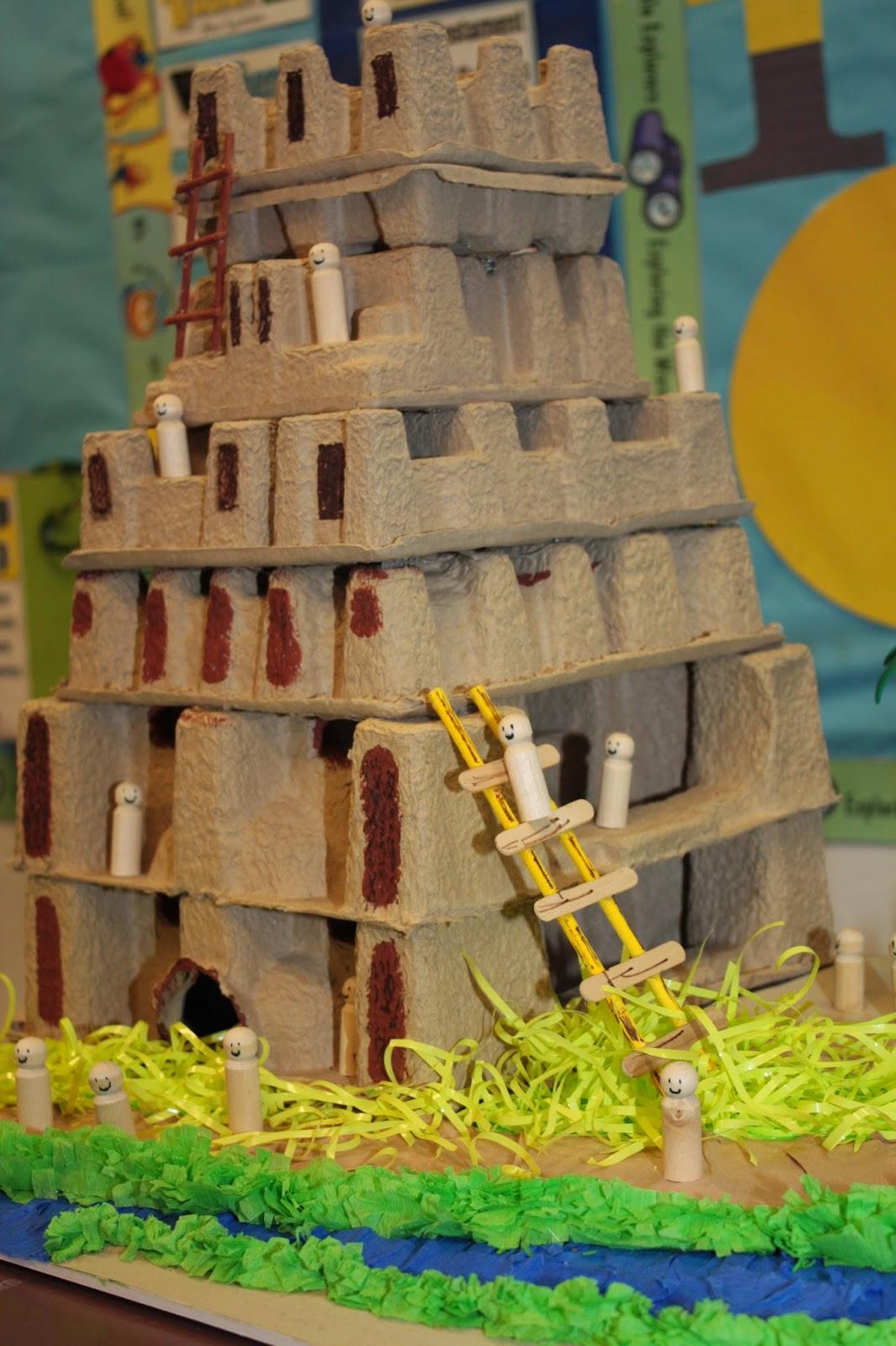 Hands On Bible Teacher Tower Of Babel