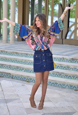 diseños de Faldas Casuales Moda