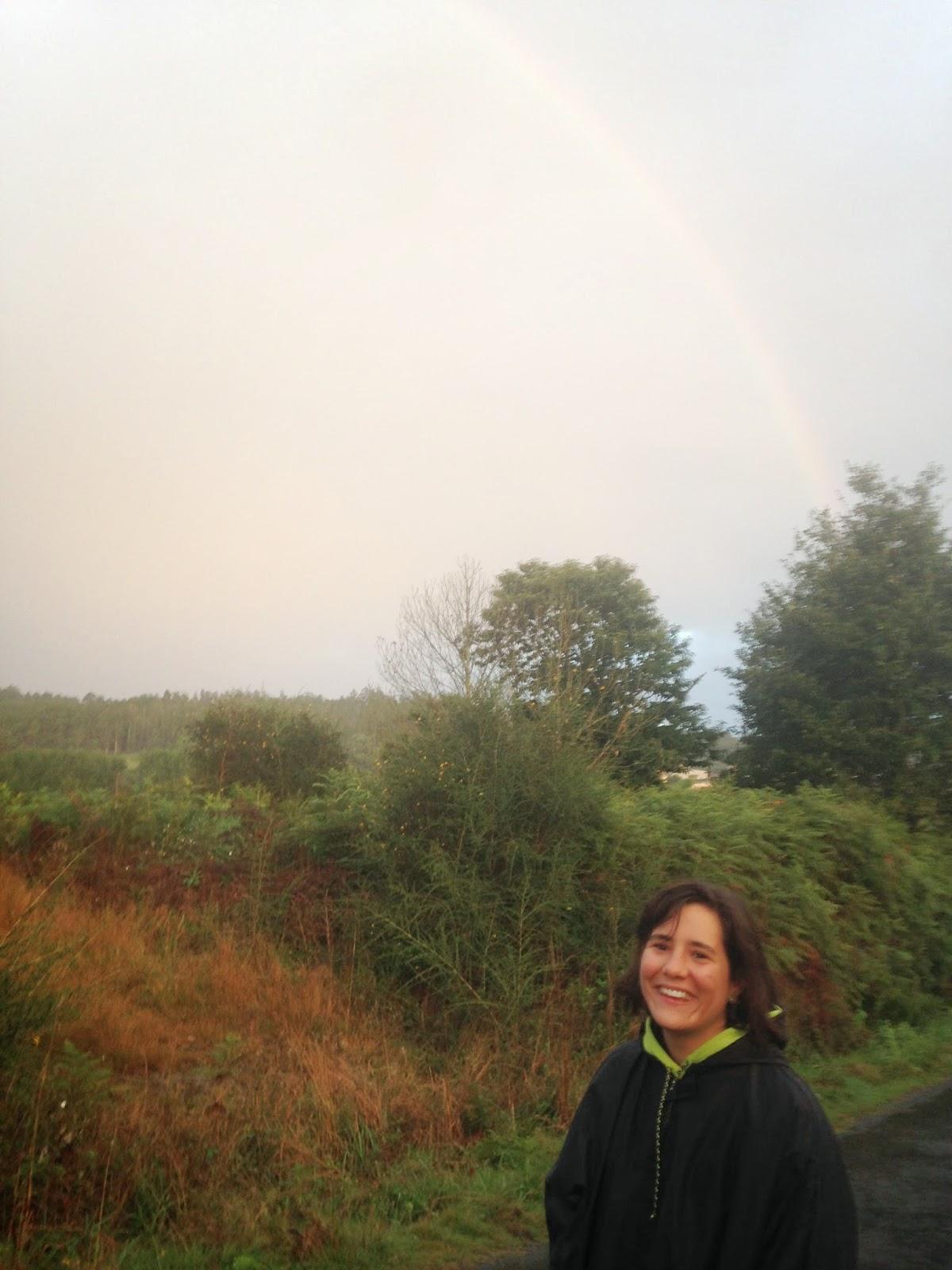 Con el arco iris