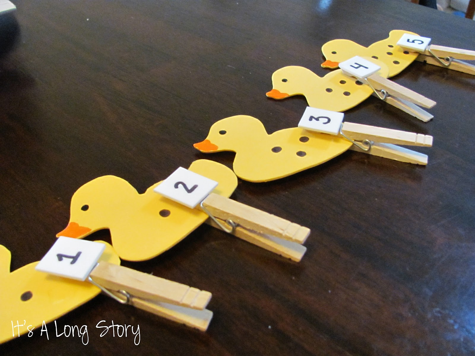 It S A Long Story Toddler Box 6 Counting Ducks