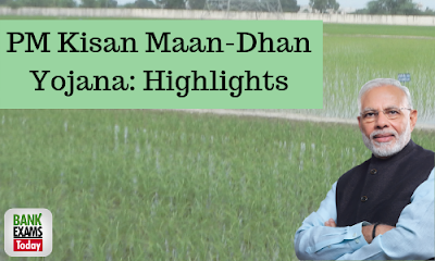 PM Kisan Maan-Dhan Yojana: Highlights