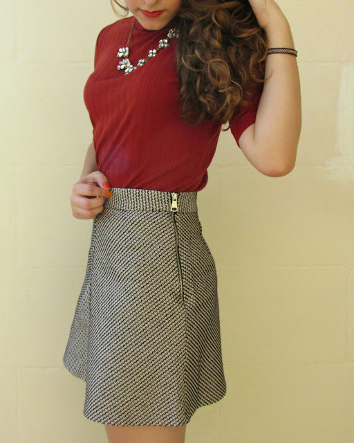 autumn outfit, fall fashion, new look, zara, revlon, happiness boutique