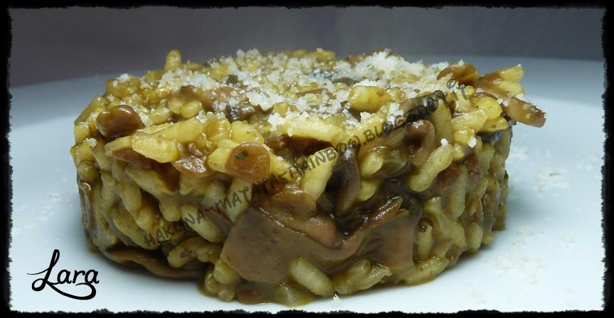 http://cucinaconlara.blogspot.it/2015/03/risotto-con-funghi-e-lenticchie.html