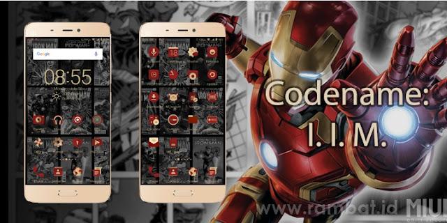 Tema Xiaomi MIUI 8 / MIUI 9 Terbaik dan Populer - Iron Man