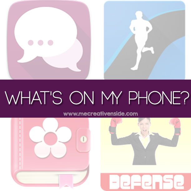 What's on my phone? APP per DONNE festa Me creativeinside