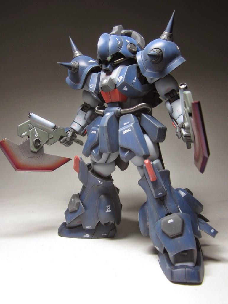 """MG 1/100 Marasai The """"Zan"""" Custom Build - Gundam Kits ..."""