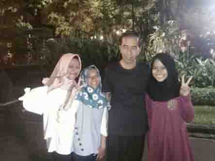 Presiden Jokowi Ajak Tiga Gadis Madiun Tidur di Istana