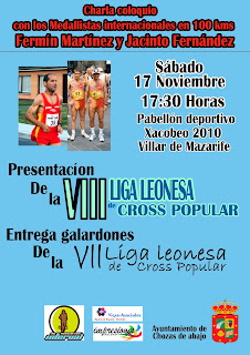 Entrega Premios Liga Cross