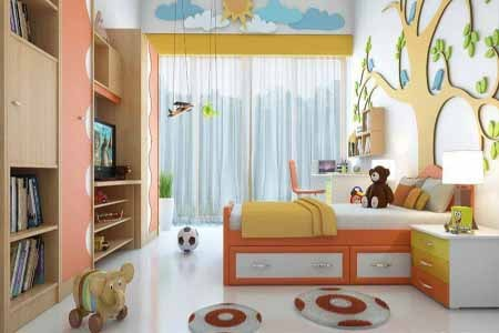 Boys Bedroom Design 3x3 Size