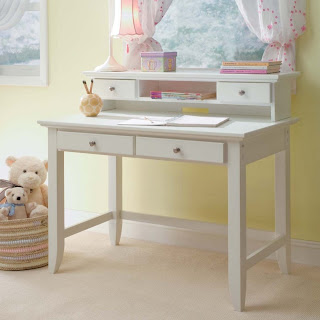 White Desk White Writing Desk