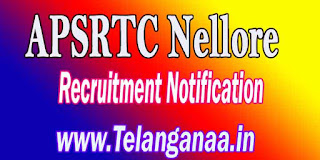 APSRTC Nellore Driver Recruitment Notification 2016