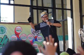 Mendongeng di acara MUI DKI, Rusunawa Marunda