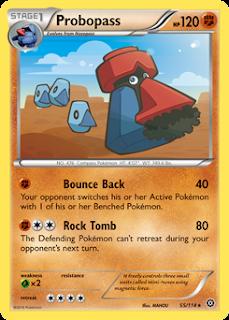 Probopass Steam Siege Pokemon Card