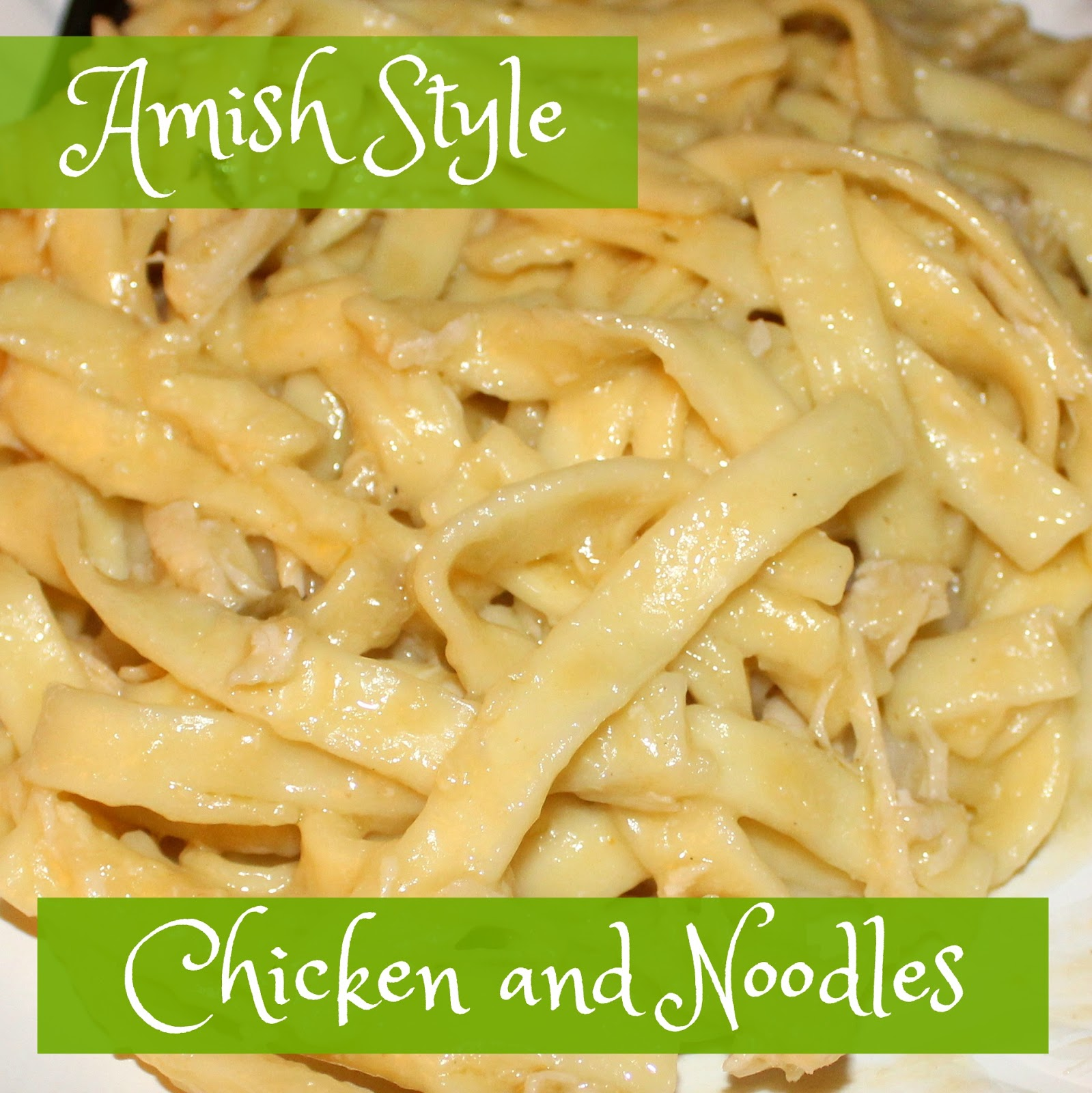Chicken And Noodles Recipe — Dishmaps