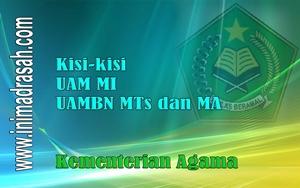 Kisi-Kisi Soal UAMBN 2015/2016