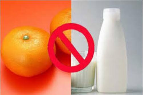احذر. لا تتناول هذه الاطعمة مع الحليب