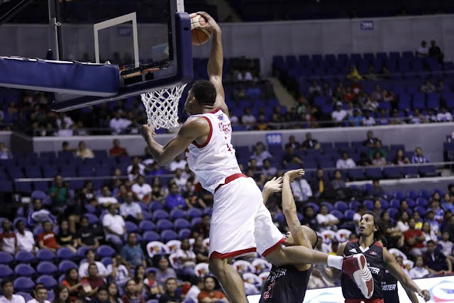 Tony MitchellSlam dunk PBA