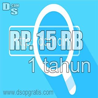 Cara Daftar Domain Murah .com Rp. 15 Rb