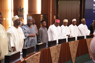 News: Details of Governors Forum meeting in Aso Rock emerge