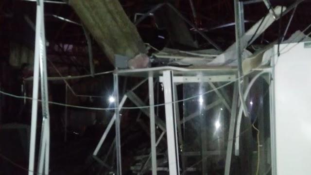 Criminosos explodem agência bancária no município de Cariré, é o 2º ataque em dois meses