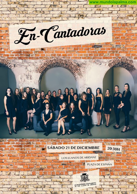 """Las """"En-Cantadoras"""" ofrecerán este sábado en Los Llanos de Aridane su concierto """"Canción de Navidad"""""""