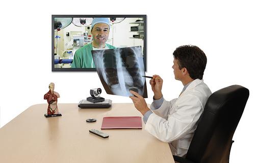Thiết bị hội nghị truyền hình phục vụ trong y tế