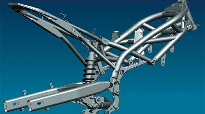 rangka teralis merupakan salah satu jenis rangka sepeda motor
