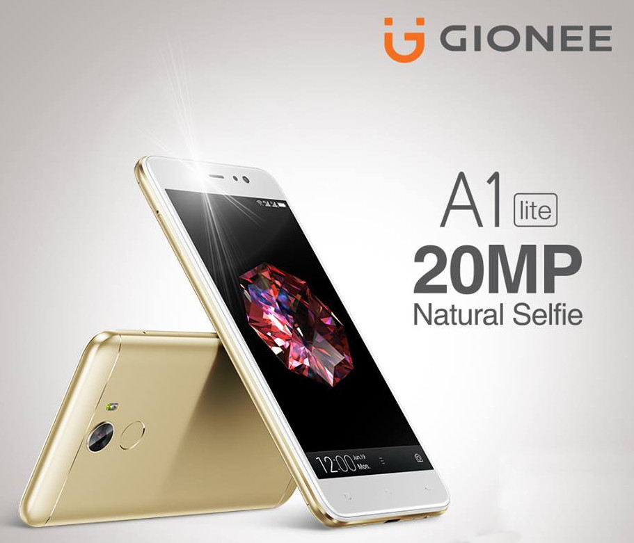 Gionee A1 lite officially launched in Myanmar, with the
