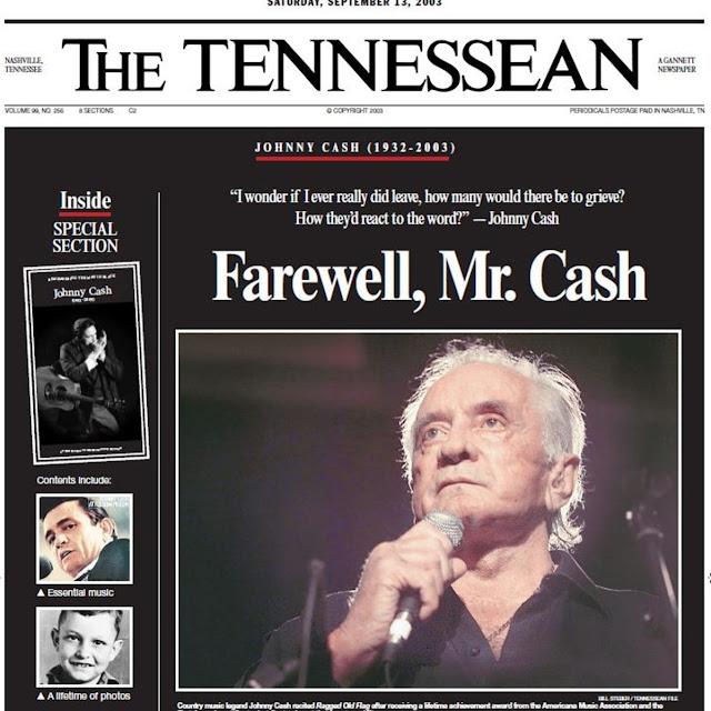 Un dia cómo hoy en 2003, fallecía Johnny Cash.