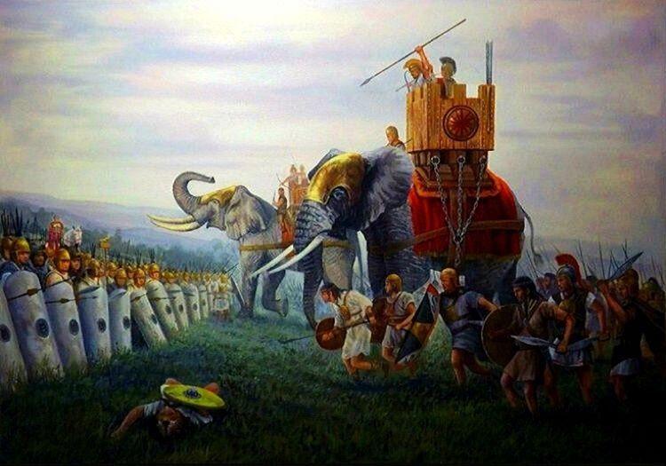 Kartacalı büyük komutan Hannibal Barca, Trebia Savaşı'nda Roma'ya ağır kayıplar verdirdi.