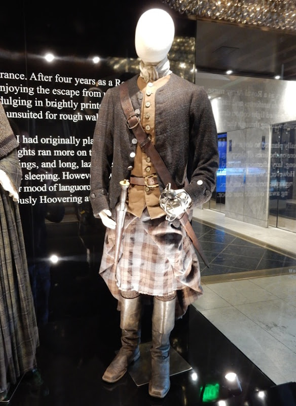 Outlander Jamie Fraser TV costume