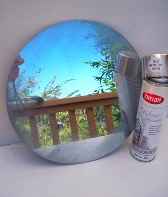 Mark Montano 99c Store Silver Antique Mirror