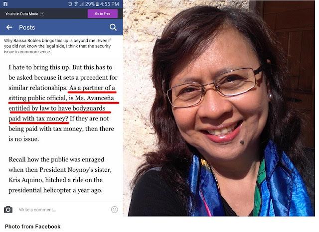 "UP College of Law Alumnus Dizon knocks Robles: ""Common sense please!"""