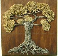 Love locks tree of life by eileenaart