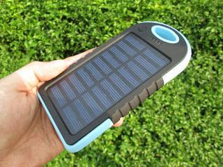 powerbank solar cell (charger tenaga surya)