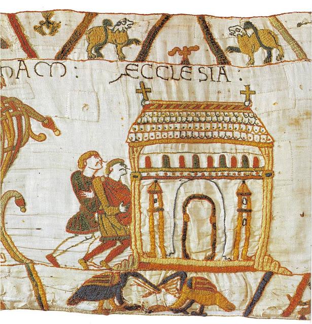 El Tapiz de Bayeux. Escena 2