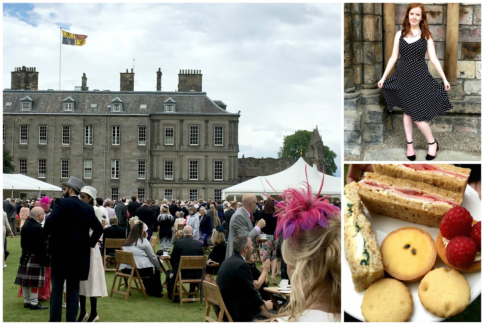 The Queen's Garden Party at Holyroodhouse Edinburgh