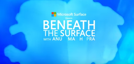 Microsoft launches 'Beneath The Surface' campaign featuring Priyanka Chopra in the first episode