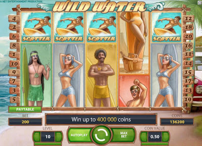 play Wild Water video slot for free