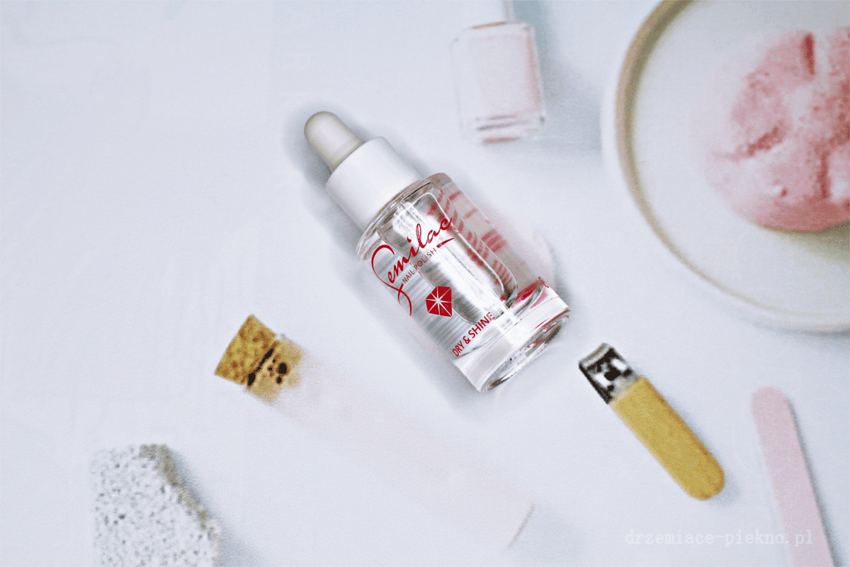 Semilac Dry & Shine ekspresowy wysuszacz do lakierów do paznokci