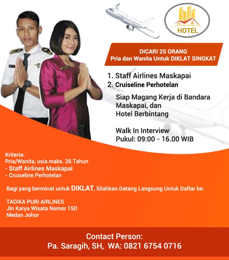 Lowongan Kerja Informasi Peluang Karir Kerja Bandara Maskapai
