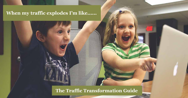 When your blog traffic explodes - the traffic transformation guide