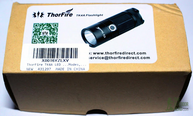 ThorFire TK4A 4xAA LED Flashlight - Unboxing 1