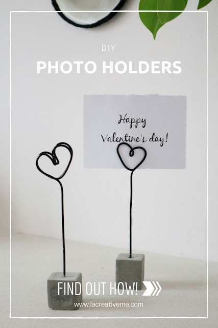 DIY Wire Photo Holders