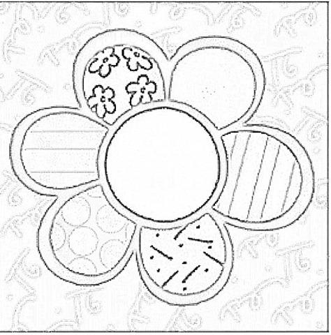Ba da web desenhos de romero brito - Coloriage fleur britto ...