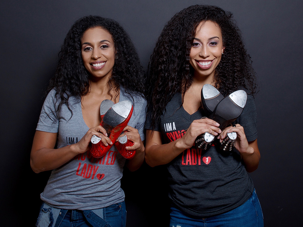 Arnold sisters tap, make dreams at Lincoln Center OOD