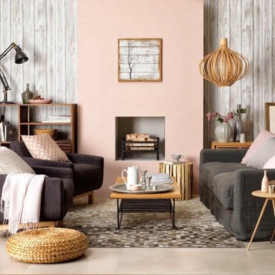 Salas en rosa y gris salas con estilo for Decoracion de salas en gris